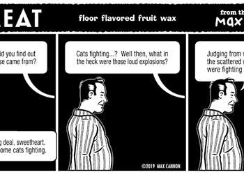 floor flavored fruit wax
