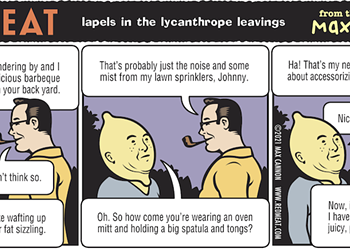 lapels in the lycanthrope leavings