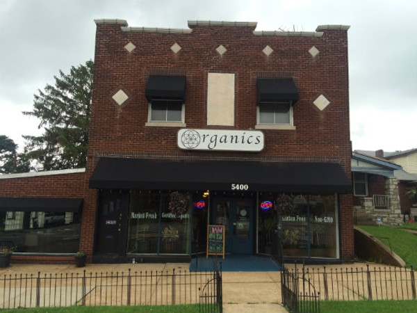 Organics is located at 5400 S. Kingshighway in a former clothing shop. - COURTESY OF FRED AND MEGHAN FORD