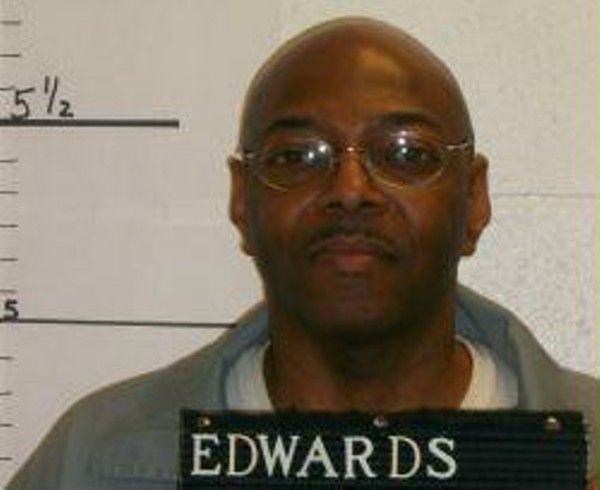 Kimber Edwards has been on death row since his conviction. - MISSOURI DEPARTMENT OF CORRECTIONS