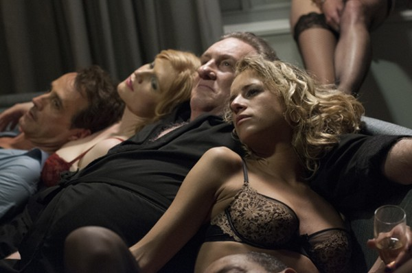 Gérard Depardieu in Welcome to New York - COURTESY OF NICOLE RIVELLI. © JUNE PROJECT LLC. A SUNDANCE SELECTS RELEASE.