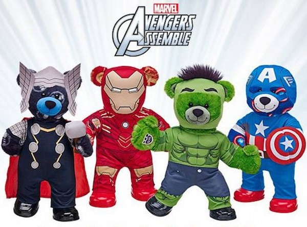 "Natasha Romanoff (""Black Widow"") isn't part of Build-A-Bear's Avengers group. - BUILD-A-BEAR ON FACEBOOK"