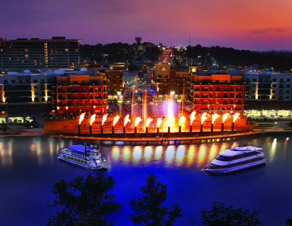 """Branson at night. Doesn't it just scream """"danger""""? - PHOTO COURTESY OF FLICKR/BRANSON CONVENTION AND VISITORS BUREAU"""