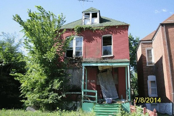 This North St. Louis house, built in 1899, was slated for demolition - IMAGE VIA