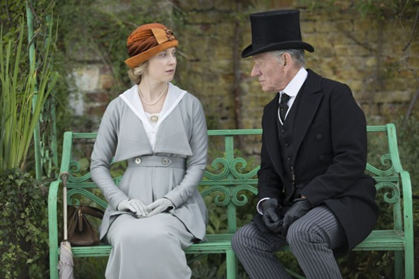 Mr. Holmes gets at the elusive nature of truth in fiction. - GILES KEYTE COURTESY OF MIRAMAX AND ROADSIDE ATTRACTIONS