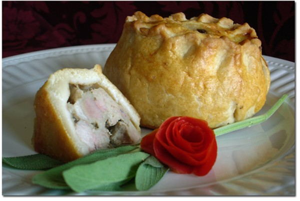 The Melton Mowbray pork pie from Queen's Cuisine will have you dancing to a different meat. - COURTESY QUEEN'S CUISINE