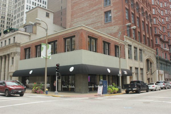 Yiro/Gyro is located in downtown St. Louis at 750 Locust Street. - EMILY MCCARTER