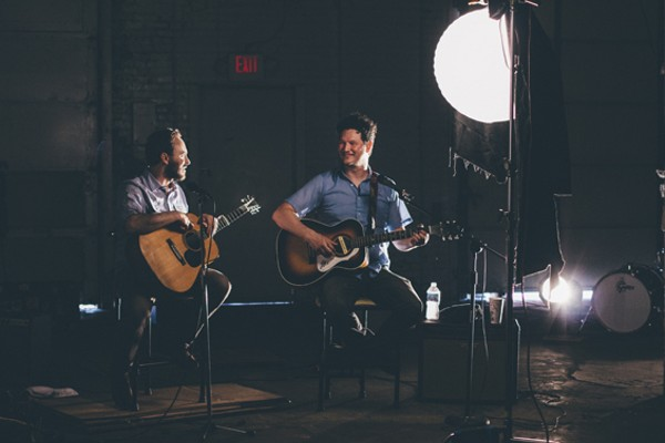 Fog Lights' Justin Johnson and Jim Peters. - ABBY GILLARDI