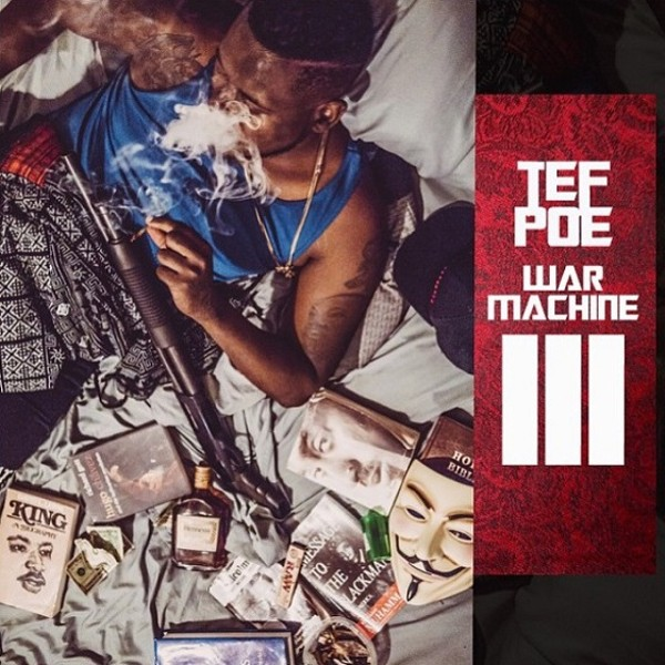 Album art for Tef Poe's War Machine III, released today.