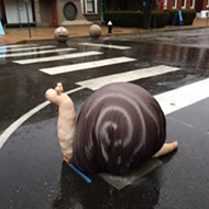 First Massive Balls, Now a Snail Trail in South City