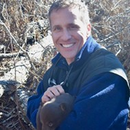 Facing a Felony, Eric Greitens Releases the Photos (of Himself Cuddling a Baby Bear)