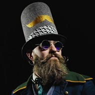 Bring Your Glorious Facial Hair to the Beard and Mustache Competition Saturday