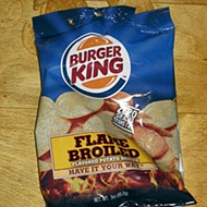 Can they package a Whopper into a potato chip? Yes, they can! But something's missing...