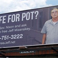Billboard for Jeff Mizanskey, Man Serving Life for Pot, Placed Near Governor's Mansion