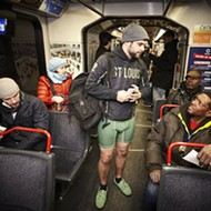 St. Louis No Pants MetroLink Ride Proves Life Is Better Without Pants