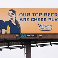 FU to MU: Webster U. Swipes at Mizzou Sports Dominance with Chess Billboard on I-70