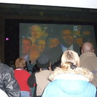 Crowd at Moolah Theatre Shouts, Screams and Sings (Poorly) For President Obama