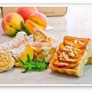 Bixby's and Piccione Pastry Feature Peaches in August Menus