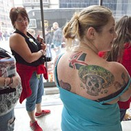 The Tattoos of the Sammy Hagar St. Louis Book Signing, Left Bank Books, Friday, March 18