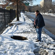 Downtown West Sinkhole Is the Tourist Attraction St. Louis Has Been Waiting For
