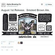"Alpha Brewing Scraps ""Submission Ale"" -- But Not Necessarily a Beer Mocking Islam"