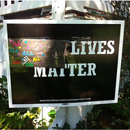 Family's Black Lives Matter Signs Defaced Again — and Again (and Again)