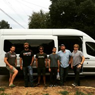 Another Band Van Burglarized — This One, Outside Schlafly Tap Room at Lunch