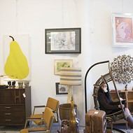 Shopping on South Grand: Cards, Antiques and Bitters
