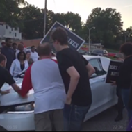 "Hit-and-Run Driver Targets ""Black Lives Matter"" Protest in Ferguson (VIDEO)"