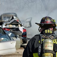 That Black Smoke Near Dogtown? It Was a Salvage Yard Fire