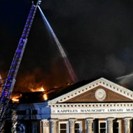 Roaring Fire Damages Karpeles Museum; Firefighters Worked to Save Rare Documents