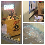 Music Record Shop Targeted in Grand Center Smash-and-Grab