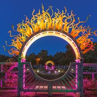 Missouri Botanical Garden Gets Lit with Garden Party Lights