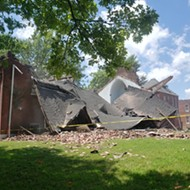 Video Shows Entire Church Collapsing On Itself in South St. Louis City
