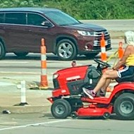 Mower Queen Proves There Are No Rules to Driving in St. Louis