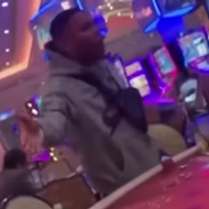 "Testy Nelly Gets Hot When Poker Player Tells Him to ""Get Under My Nuts"""