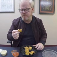 VIDEO: Toasted Ravs Baffle, Enchant Comedian Jim Gaffigan