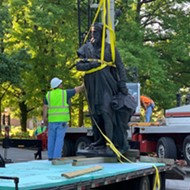 The Christopher Columbus Statue in Tower Grove Park Has Come Down