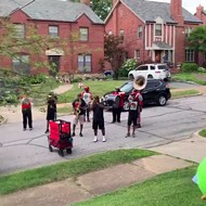 Red and Black Brass Band Stops by Mary Engelbreit's House