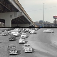 St. Louis Then and Now: Vandeventer at Highway 40/64