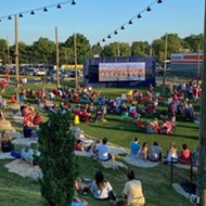 9 Mile Garden Hosting Outdoor Family Films Each Saturday Night All Summer
