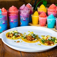 Taco Circus @ Trops to Pair Slushies, Tacos in The Grove