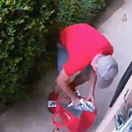 VIDEO: St. Louis Porch Pirate Takes Package, Leaves DoorDash Order
