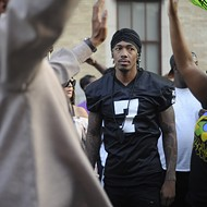 Yes, That Was Nick Cannon Protesting in St. Louis Yesterday