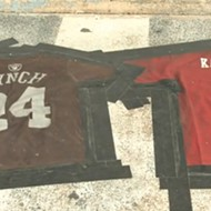 Ozark Bar Spells Out 'Lynch Kaepernick' in Side-by-Side Jersey Doormats