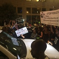 Protesters Again March Through Downtown St. Louis, Blocking Intersections