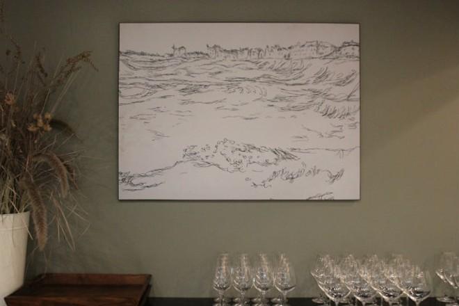 Artwork, like this Paul Klee print, is part of the Privado experience. - CHERYL BAEHR