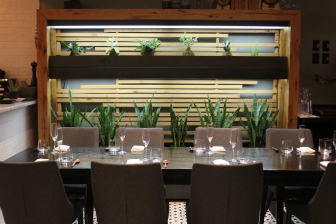 Privado has room for sixteen guests. - CHERYL BAEHR