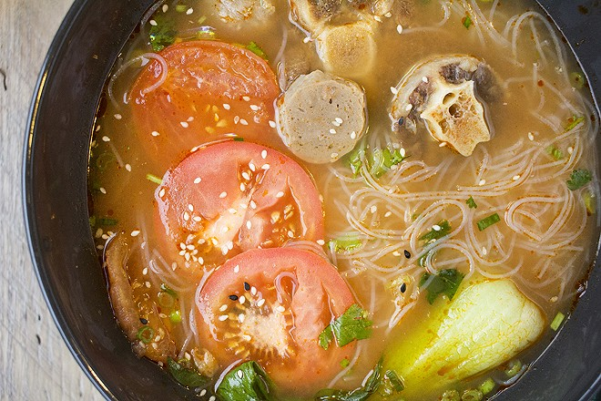 Oxtail soup is another highlight. - MABEL SUEN