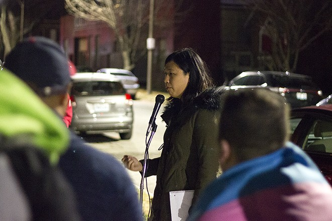 Elaine Cao is suing St. Louis' Chess Club and Scholastic Center. - DANNY WICENTOWSKI